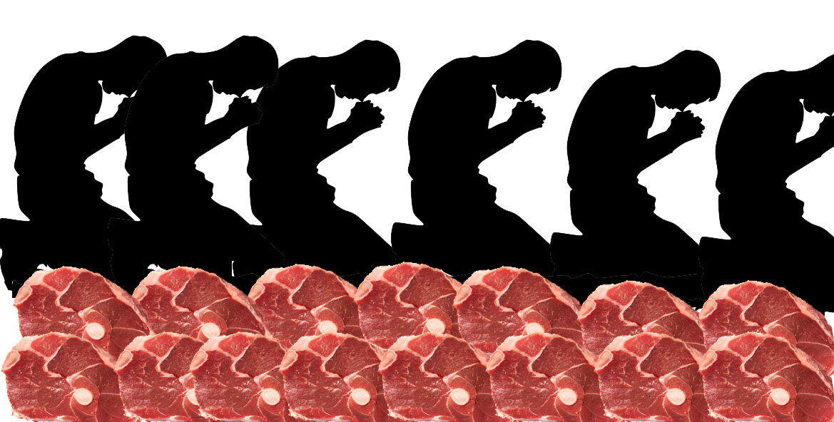 The Wall of Meat And The Shield Of Prayer