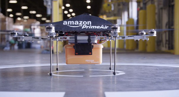CEO Jeff Bezos says deliveries via Amazon drones are on the horizon