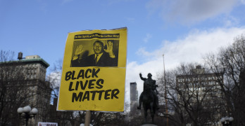 """""""Black Lives Matter"""" poster"""