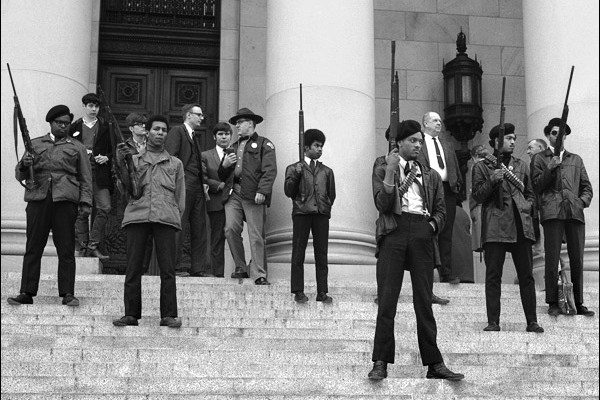 Black Panther's armed civil disobedience