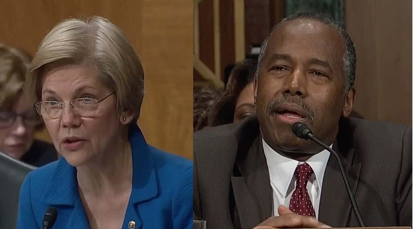 Presidential Conflict of Interest Act at Carson's hearing