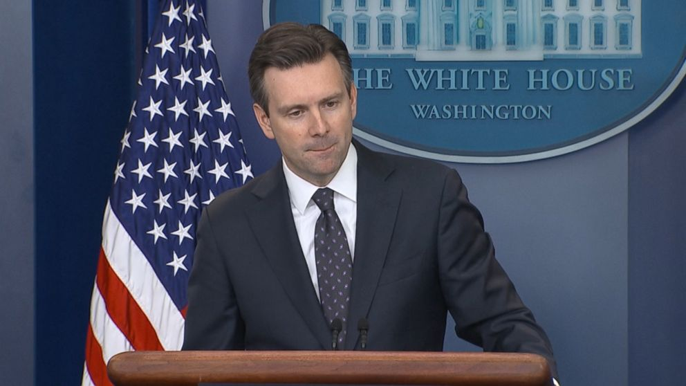 It must be tough to be Josh Earnest