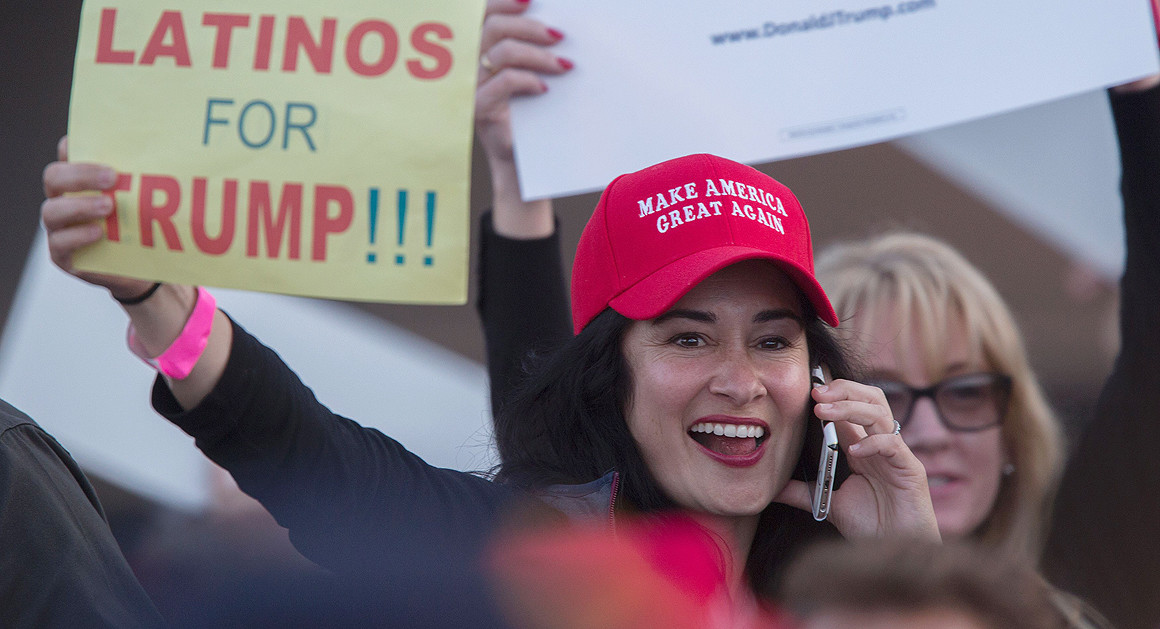 "Trump's ""Hispanic Lite"" Strategy May be Working"