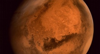 Indian Mars orbiter spots India-shaped dust cloud