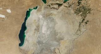 NASA tracks Aral Sea disaster for 14 years