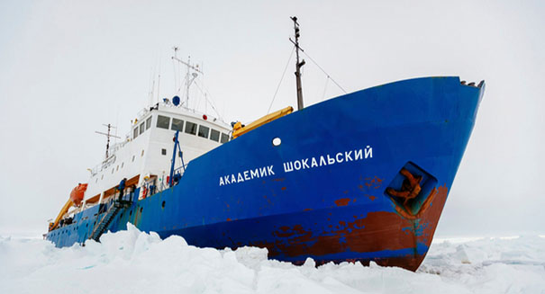 Antarctic rescue mission leaves ridiculous carbon footprint