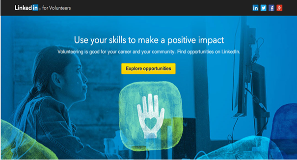 LinkedIn launches volunteer platform for people looking for pro bono work