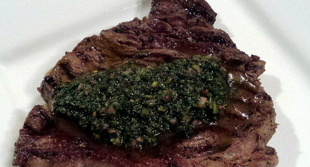Steak_with_Chimichurri_Sauce_(13316528445)