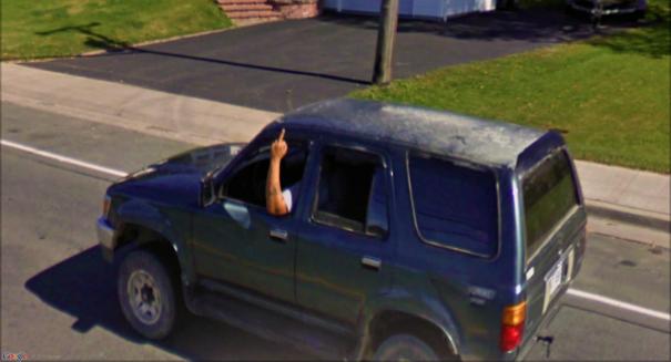 11 crazy photos found on Google Maps