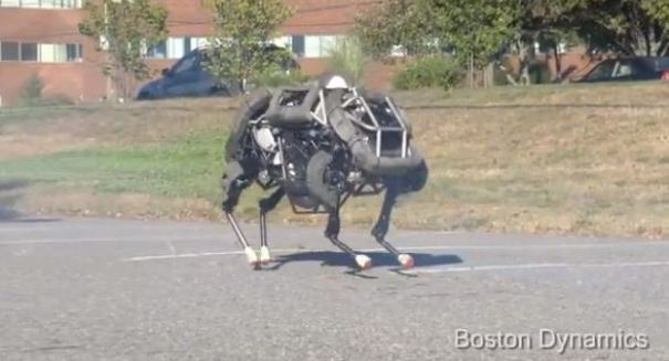 WildCat robot can run a less-than-four minute mile [VIDEO]