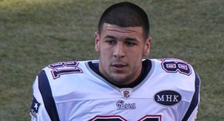 Aaron Hernandez danced at a gas station shortly before Lloyd was shot to death: report