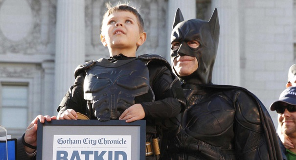 Julia Roberts directing a film about Batkid