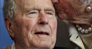 George H.W. Bush hospitalized as precautionary measure