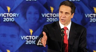 Why the big boost in income for NY Governor Cuomo?