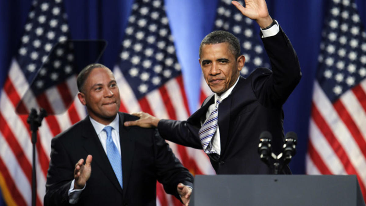 Obama Picks His Old Friend Deval Patrick for President in 2020