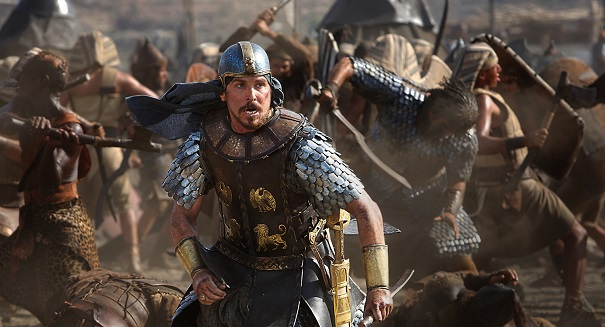 Exodus slays Hunger Games at weekend box office