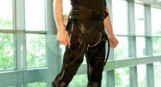 Harvard scientists create softer robotic exoskeleton