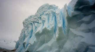 Icebergs once floated past Florida