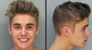 See the hilarious Justin Bieber mug shot