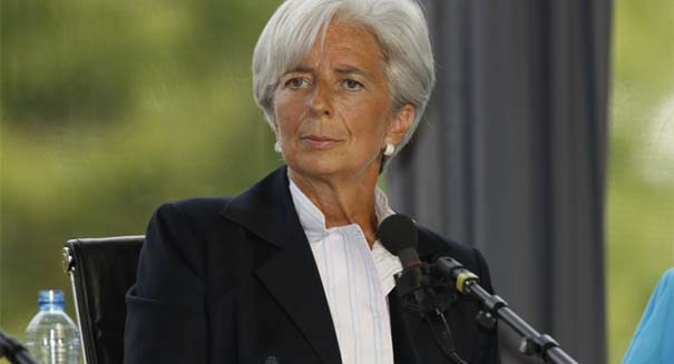IMF's Christine Lagarde warns of global economic slowdown