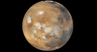 Alien enthusiasts scrutinize Mars pictures for 'cannon-like' object