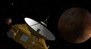 NASA probe snaps pictures of Pluto to prepare for its long-awaited encounter