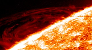 NASA releases stunning images of violent solar activity