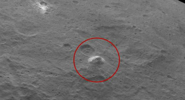A pyramid deep in space? Bizarre feature spotted on Ceres