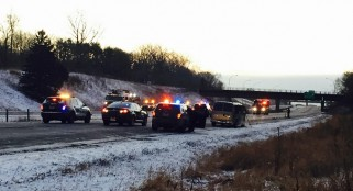 Interstate 694 police shooting leaves murder suspect dead