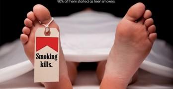 smoking kills ad