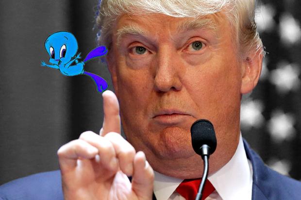 OMG Donald Trump TWEETED!