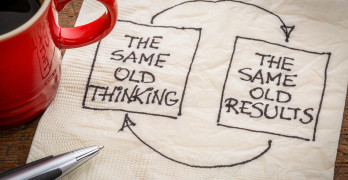 the same old thinking and disappointing results, closed loop or