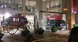 Thieves use SUV to smash into Wells Fargo museum in San Francisco, steal gold nuggets