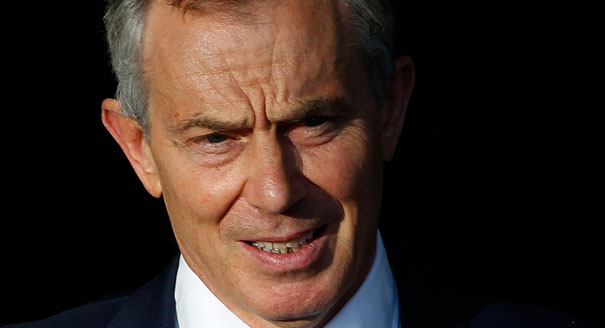 Blair comments on on climate change: It's foolish to deny human involvement