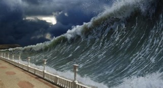 Will a tsunami smash California?