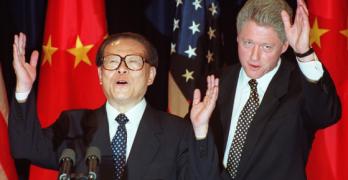 China and Clinton