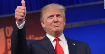 Trump Thumb Up