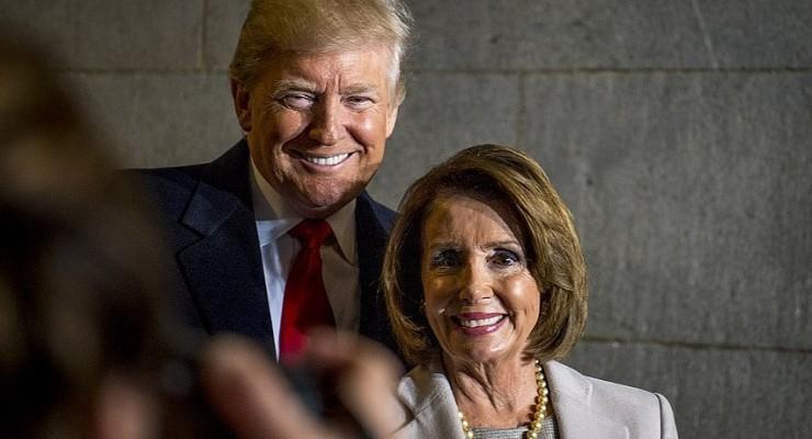 Trump and pelosi