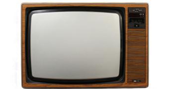 70s style tv set